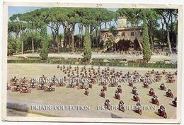 CARTOLINA CORPO DELLE GUARDIE DI P.S. POLIZIA MANIFESTAZIONE CELEBRATIVA DEL 107° ANNULAE ROMA ANNO 1959 - Polizia – Gendarmeria