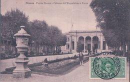 POSTAL ITALIA - FLORENCIA - FIRENZE - PIAZZA CAVOUR - PALAZZO DELL,ESPOSIZIONE E PARCO - PONTICELLI - Firenze