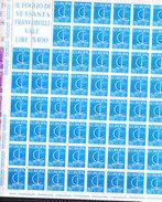 Europa Cept 1966 Italy 2v Sheetlets ** Mnh (CO316) - Europa-CEPT