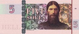 5 Souls 2014 BANQUE DES ÄMES DAMNEES  Grigori RASPOUTIN - Fiktive & Specimen