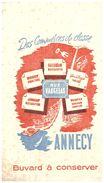 Com C/Buvard  Commerces De Classe  Rue Vaugelas ANNECY (N= 1) - Buvards, Protège-cahiers Illustrés
