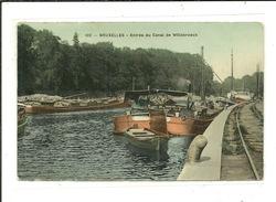 Bruxelles Entrée Du Canal De Willebroeck ( Péniche ) - Maritiem