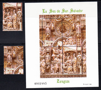 ESPAÑA 1998.EDIFIL Nº 3595 + SELLOS PROCEDENTE DE H.B. LA SEO DE ZARAGOZA .NUEVOS SIN CHARNELA. CECI. 2.18 - 1931-Hoy: 2ª República - ... Juan Carlos I
