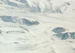 1 AK Antarctica Antarktis * An Aerial View Of The Beardmore Glacier In The Transantarctic Mountais * - Ansichtskarten