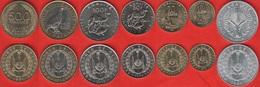 Djibouti Set Of 7 Coins: 5 - 500 Francs 1991-2013 UNC - Djibouti