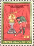 PAKISTAN MNH** STAMPS, 1971 World Cup Hockey Tournament, Barcelona - Pakistan