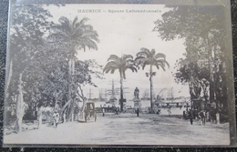 Maurice Ile  Square Labourdonnais Port Louis  Cpa Mauritius - Maurice