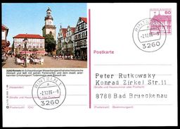 81377) BRD - P 138 - Q1/3 - Ortsgleich OO Gestempelt - 3260 Rinteln, Marktplatz, Kirche St. Nikolai - BRD