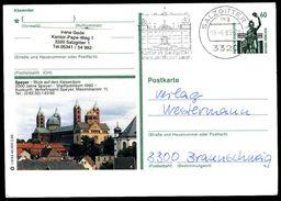 81396) BRD - P 139 - T6/93 - OO Gestempelt - Speyer, Kaiserdom Kirche - [7] West-Duitsland