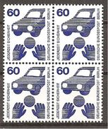 (55108) Berlin 1971 // Michel 409 A ** 4er Block - [5] Berlin