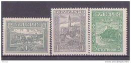 64-263 // BG - 1918   BEFREIUNG Von MAZEDONIEN  Mi 119/21 ** - 1909-45 Kingdom