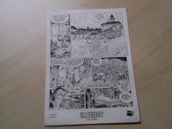 Blueberry OK CORRAL Ex Libris Tiré à Part Charlier Gir Fnac 2009 Giraud Moebius Mike Steve Donovan - Blueberry