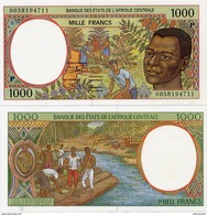 CENTRAL AFRICAN STATES   P: Chad    1000 Francs    P-602Pg       (20)00       UNC - Central African States