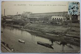 VUE PANORAMIQUE DE LA GARE D'ORLÉANS - NANTES - Nantes