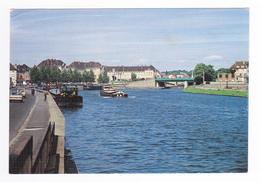 60 CREIL Les Bords De L´Oise Postée De Liancourt En 1989 Belles Péniches - Creil