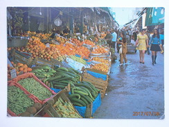 Postcard Heraclion The Market Greece My Ref B21542 - Markets