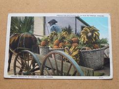 Productos Escogidos De La Isla De Taboga - Panama ( Maduro ) Anno 1928 ( Zie Foto Voor Details ) !! - Panama