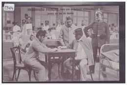 GUERRE 14-18 - BLESSES FRANCAIS EN ALLEMAGNE - TB - Guerre 1914-18