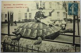 MI CARÊME 1911 - CONCURRENCE A L'OUEST-ÉTAT (4 ème PRIX )  - NANTES - Nantes