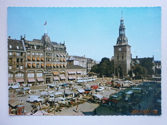 Postcard The Market Place And The Cathedral Church Oslo Norway My Ref B21544 - Markets