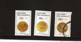 TURKISH CYPRUS 1997 / Scott 442-43, 445 Coins - Unclassified