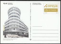 Croatia 2015 / Croatian Cultural Society Napredak / Architecture / Postal Stationery - Architecture