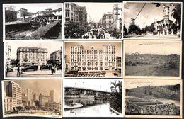 Brésil - Lot Of 13 Postcards (animacion, Precurseur, Oldtimer, Stamps...vista Photos - Brésil