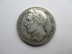 Belgique, Léopold I, 5 Francs 1832  Tête Laurée,  Poss. A - 1831-1865: Léopold I