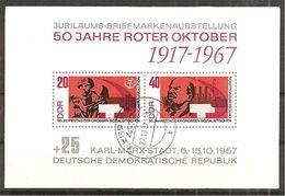 DDR 1967 // Michel Block 26 O (bl.18*) - Blocs
