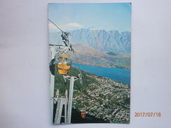 Postcard The Skyline Gondola Lift Queenstown South Island New Zealand C 1968 My Ref B21548 - New Zealand