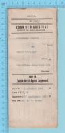 1948-Bref De Saisie-Arret Après Jugement Contre Industrial Stamping Bromptonville Quebec - 2 Scans - Decrees & Laws