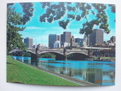 Postcard Melbourne Skyline And Yarra River 3D Lenticular Card  My Ref B21550 - Melbourne