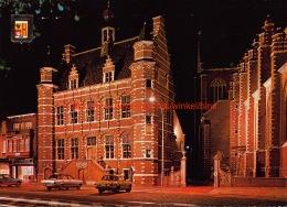Gemeentehuis Bij Nacht - Hoogstraten - Hoogstraten