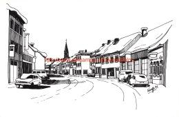 De Leopoldstraat Met Een Winterkleedje - Merksplas - Merksplas