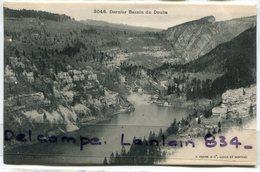 - 3046 - Dernier Bassin Du Doubs - Précurseur,  épaisse,  édition J. Farine, Non écrite, TTBE Scans. - France