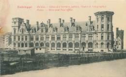 ZEEBRUGGE - Ruines - Hôtel Des Services Publics, Postes Et Télégraphes - Zeebrugge