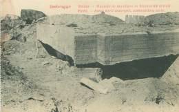 ZEEBRUGGE - Ruines - Magasin De Munitions En Béton Armé Détruit - Zeebrugge