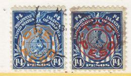 U.S. PHILIPPINES  368-9   (o) - Philippines