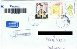 Cover Registered Bosnia&Herzegovina BkB62  # 2017 Kljuc ¬ Cat - Bosnia And Herzegovina