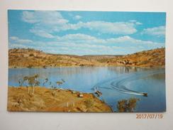 Postcard Water Ski-Ing On Lake Moondarra Mt Isa Queensland By Sydney Hughes My Ref  B11520 - Other
