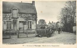 """/ CPA FRANCE 18 """"Environs De Vierzon, Moulin De La Chaponnière"""" - Vierzon"""