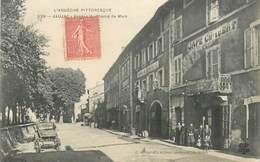""".CPA FRANCE 07 """"Jaujac, Avenue Du Champ De Mars"""" - France"""