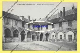 CPA 60 COMPIEGNE Les Ruines De St-Corneille  Manutention Militaire GUERRE 1914 1918 - Compiegne