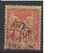 FRANCE      N° YVERT  :    94    OBLITERE - 1876-1898 Sage (Type II)