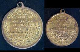 1903 Greece Athens Zappeio International Exhibition Hall Medal - Royal / Of Nobility