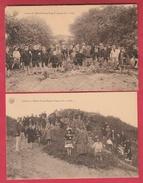 De Haan / Coq S-Mer - Colonie Oeuvre Franco-Belge En 1922 - 2 PK / 2 Cartes Postales ( Verso Zien ) - De Haan