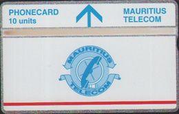 L&Gyr Definitive Issue,MAU-21a Telecom Logo,CN:502B, Mint,issued In 1995 - Mauritius