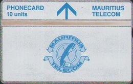 L&Gyr Definitive Issue,MAU-17a Telecom Logo,CN:422A, Mint Tiny Oxide,issued In 1994 - Mauritius
