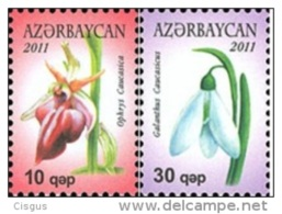 Az 0849-850 Azerbaijan Aserbaidschan 2011 - Azerbaïdjan