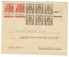 Bulgarie // Lettre Pour La Suisse - 1945-59 République Populaire